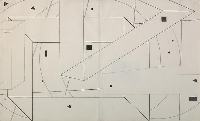 74-23/24 1974 graphite on paper