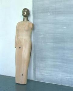 Icon 2003-2004 Wood and bronze