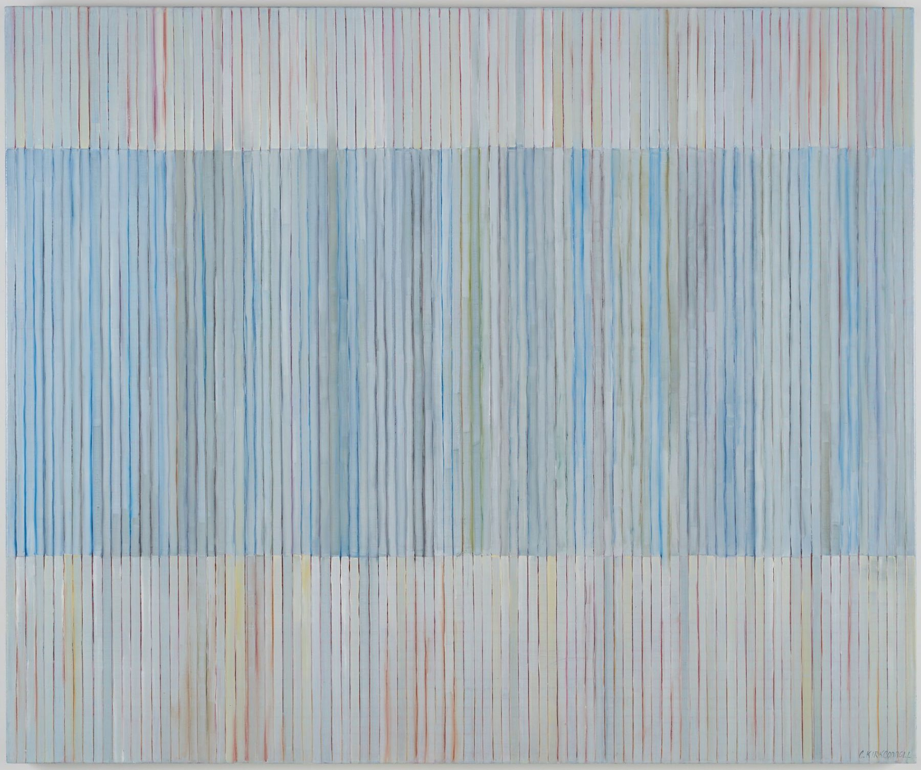 Clare Kirkconnell Strip Bars II, 2018