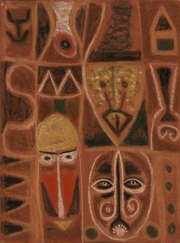 Adolph Gottlieb, Untitled, 1949