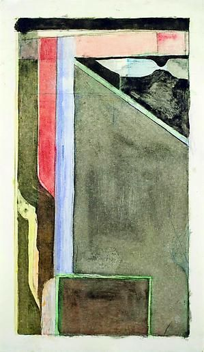Richard Diebenkorn XV, 1988