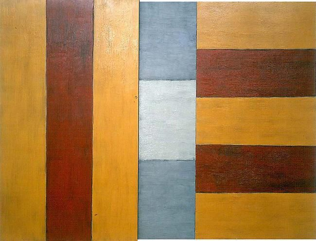 Sean Scully Arrest, 1987