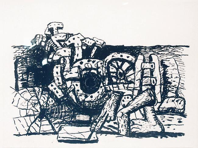 Philip Guston, Elements, 1980