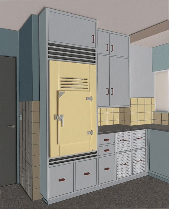 Lucy Williams Kitchen (Frognal 66), 2013