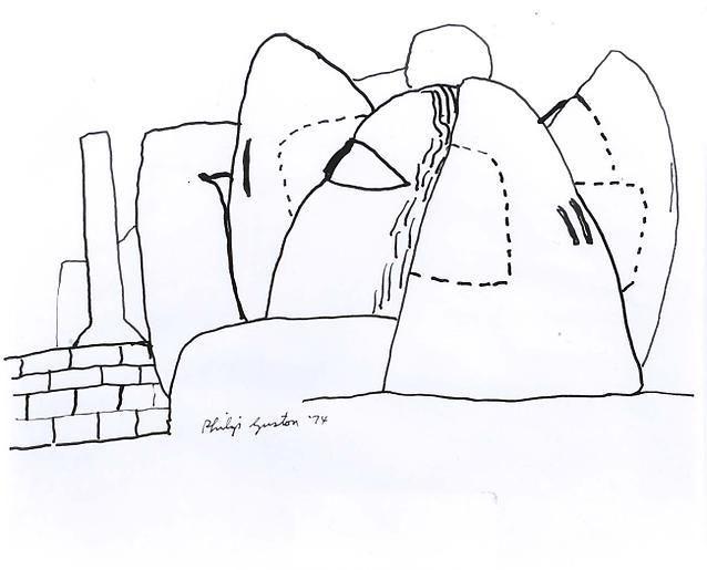 Philip Guston Untitled