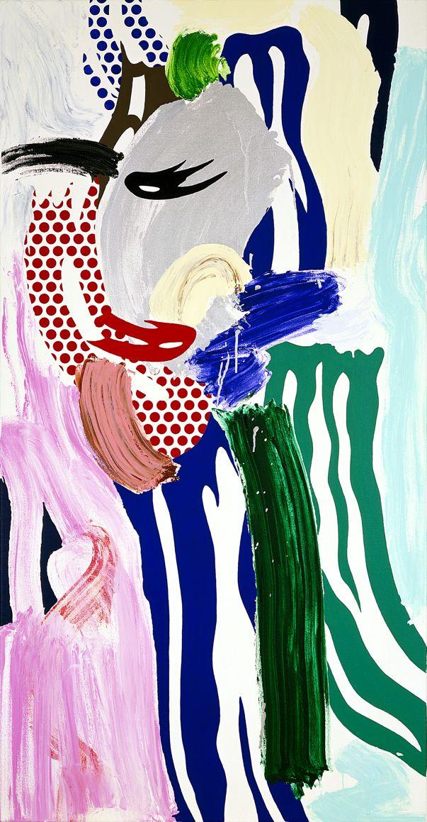 Roy Lichtenstein, Fashionable Lady, 1986