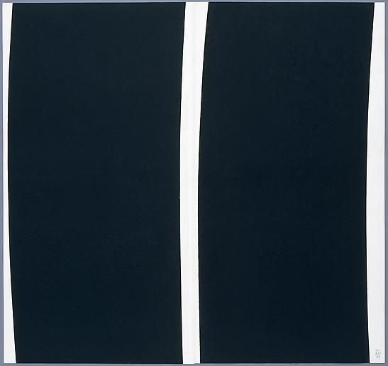 Double Transversal (2 panel diptych), 2004,
