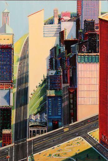 Wayne Thiebaud Urban Center, 1994
