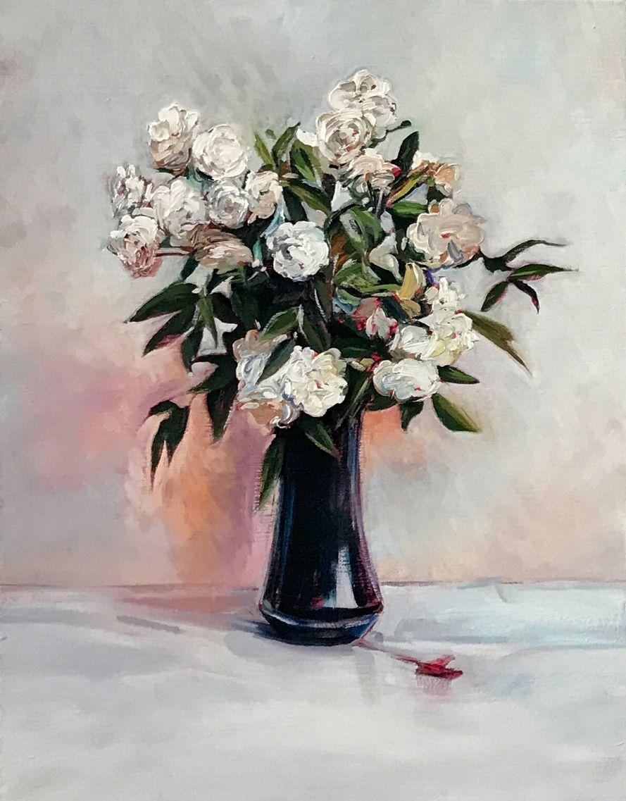 Sam McKinniss Fairy Roses (after Fantin-Latour), 2017