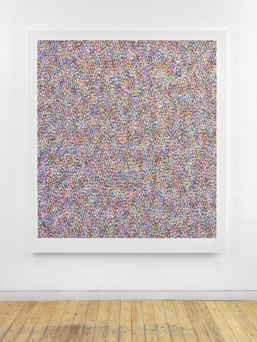 James Hugonin, Binary Rhythm (VI),2013-14
