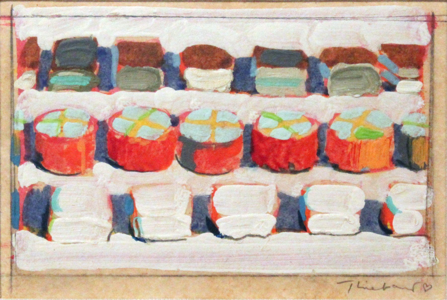 Wayne Thiebaud, Candy Chunks, c. 1970