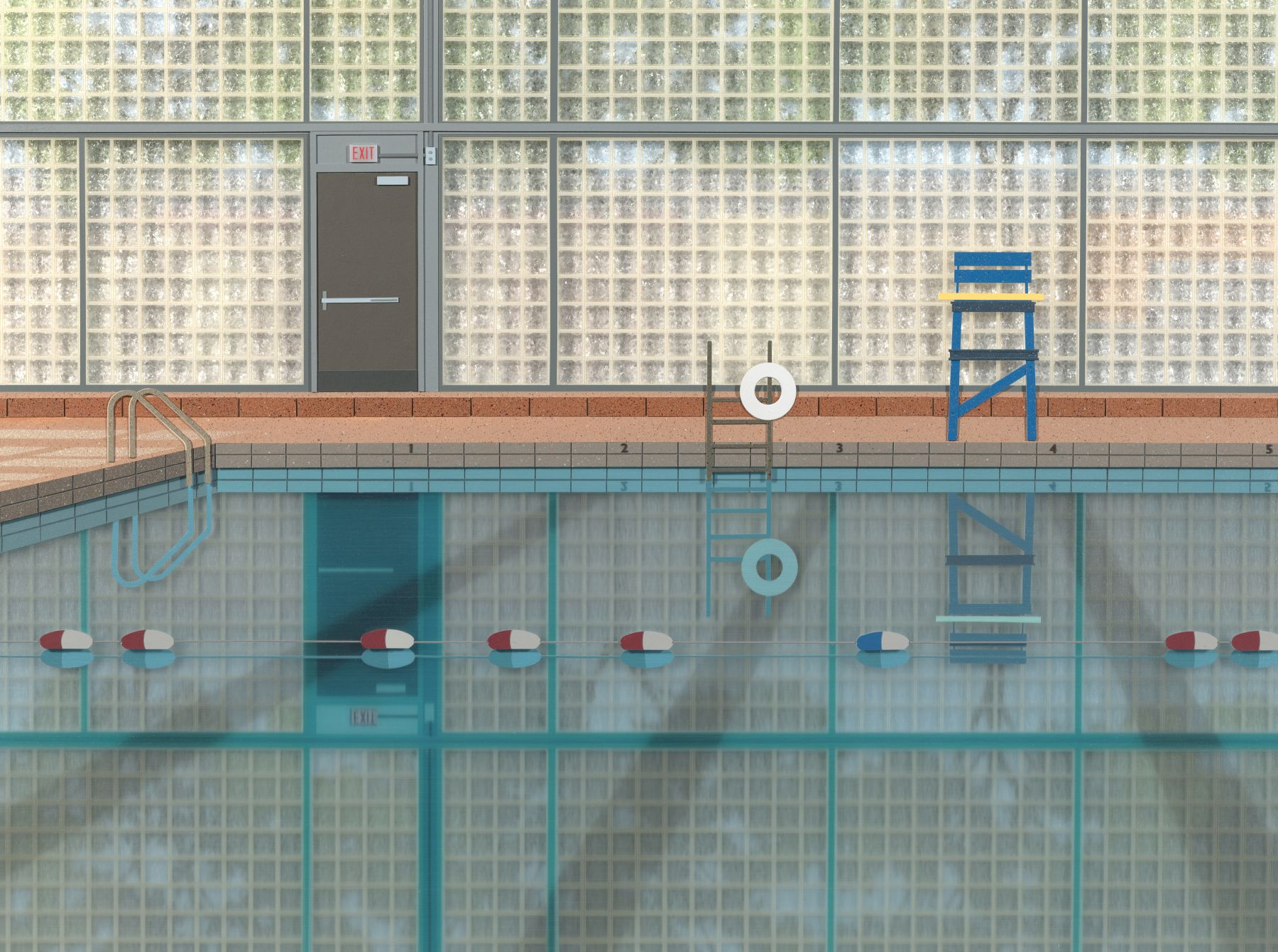 Lucy Williams, Community Pool, 2016