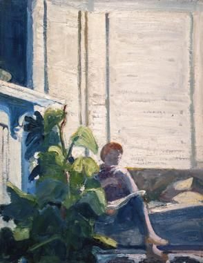 Paul Wonner Figure by the Window