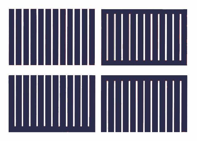 Donald Judd Untitled (S.# 247-250)
