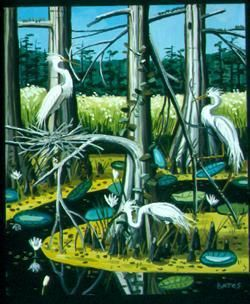 Great American Egrets II