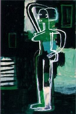 David Bates Standing Nude, 2002