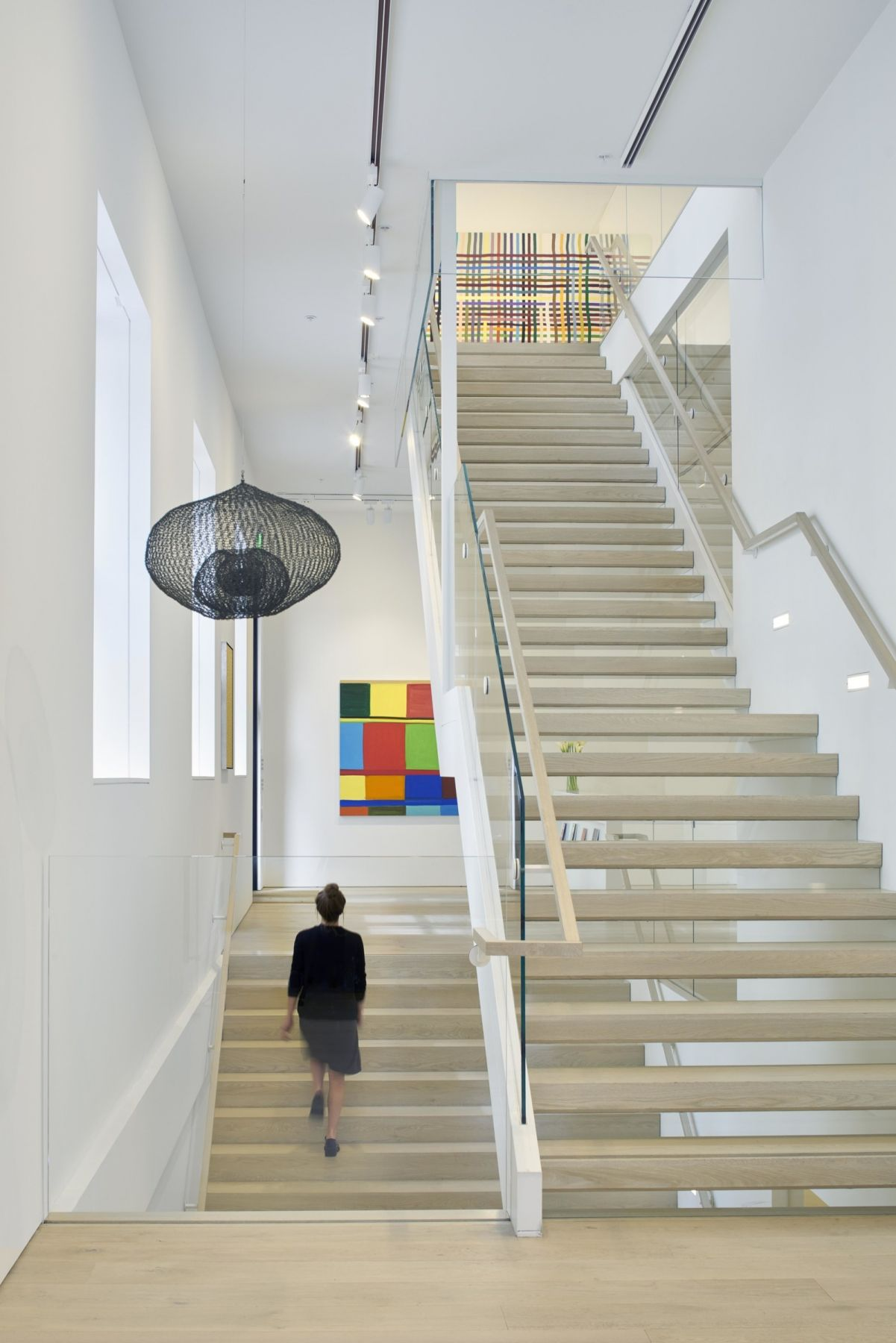 The interior of the Jennifer Weiss–renovated Berggruen Gallery in San Francisco.