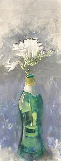Paul Wonner Flowers in Bottles: Freesias #2, 2000