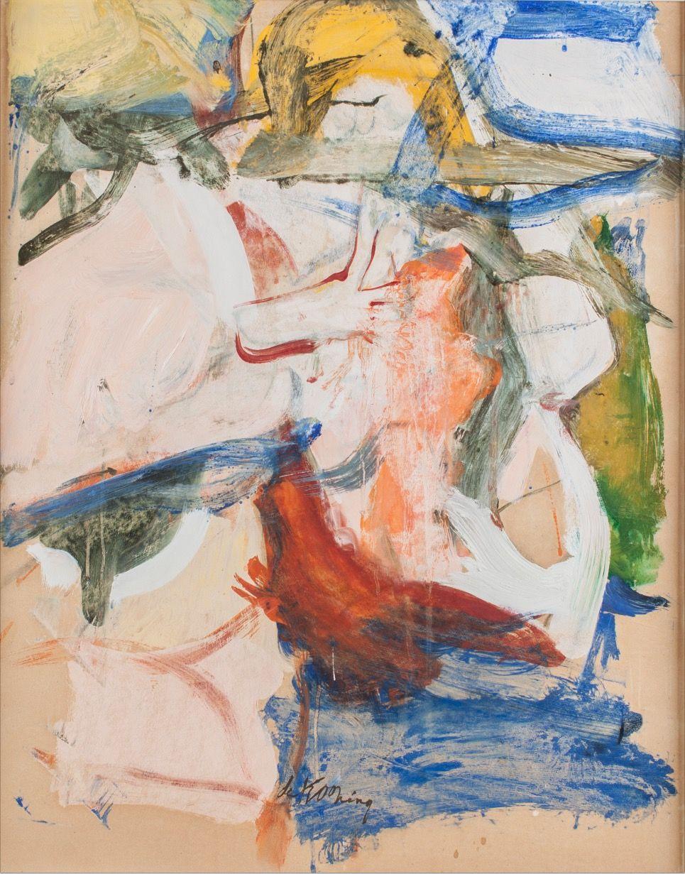 Willem de Kooning, Untitled, c. 1967