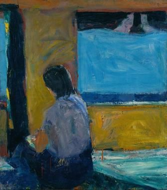 Richard Diebenkorn Seated Girl by a Window