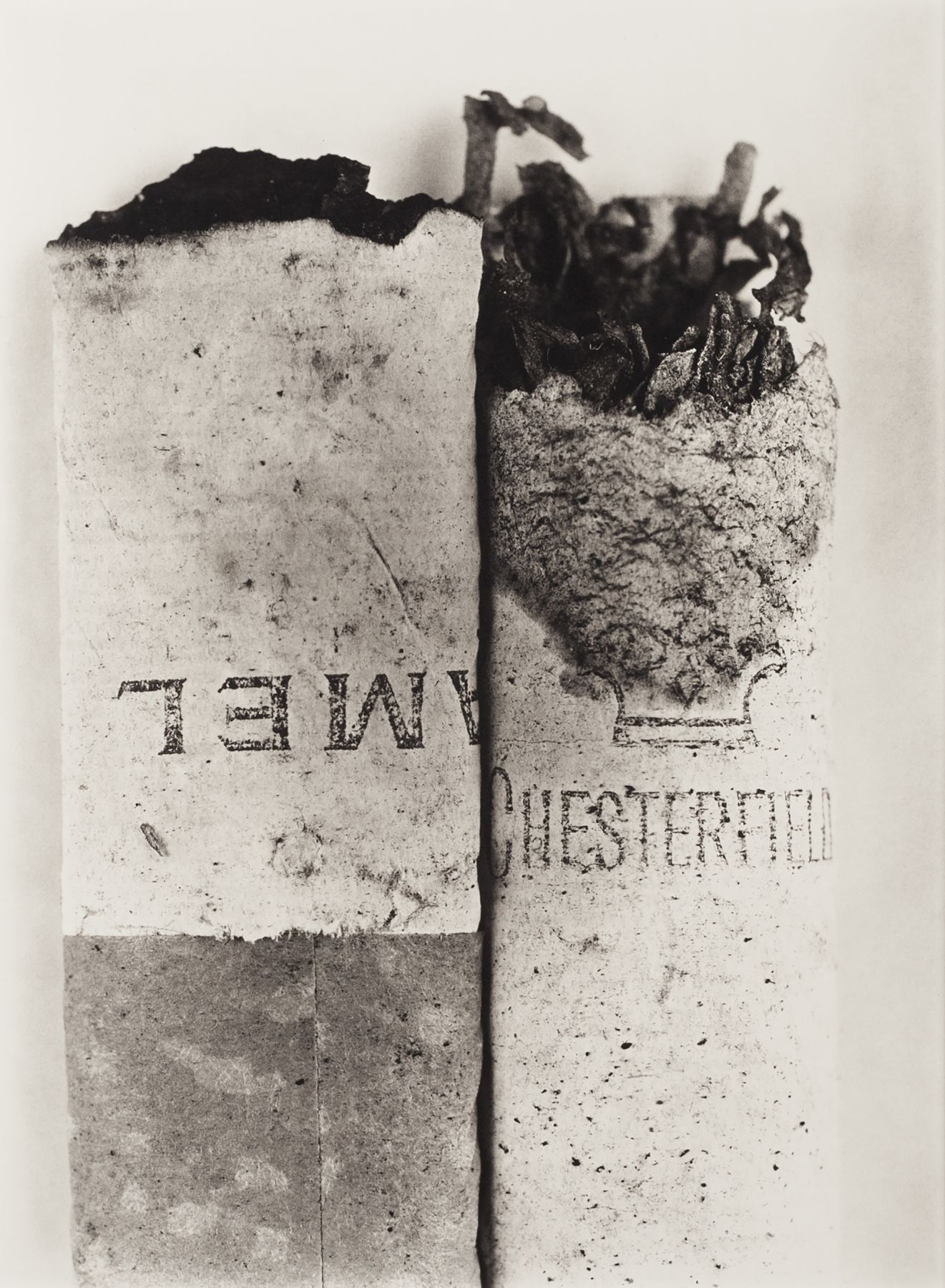 Irving Penn Cigarette No. 037, New York, 1972 / printed 1974