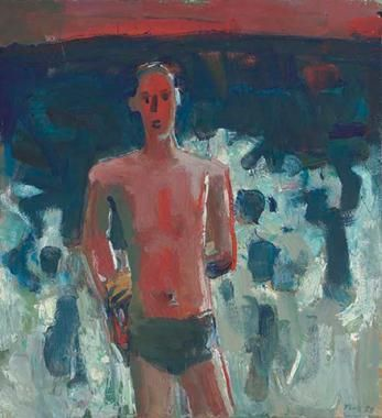 David Park Red Bather