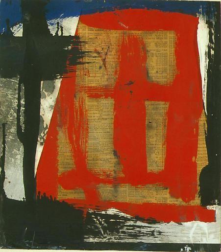 Franz Kline Untitled
