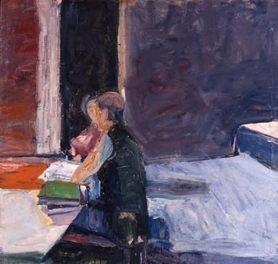 Richard Diebenkorn Interior with Figures