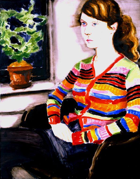 Elizabeth Peyton, Laura, 2004