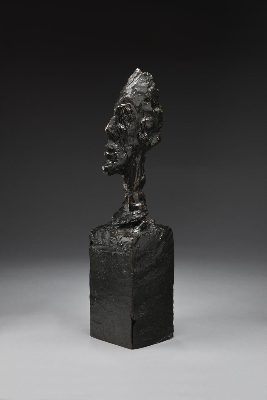 Alberto Giacometti, Buste de Diego, 1950