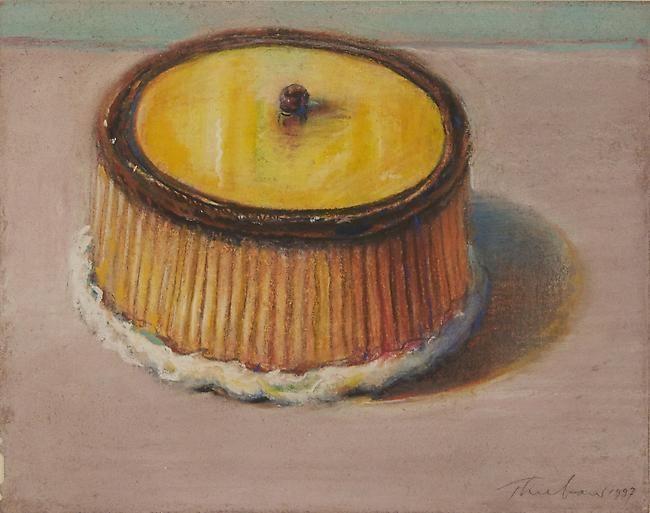 Wayne Thiebaud Lemon Cake, 1997