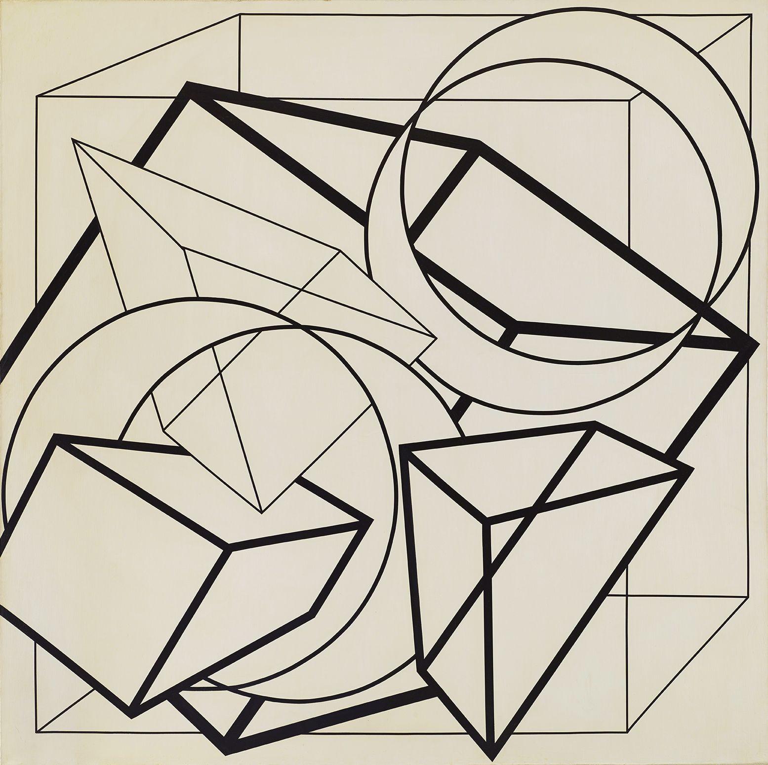 Al Held Untitled, 1972