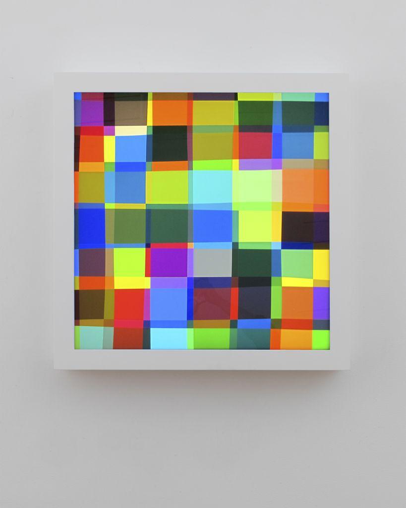 Spencer Finch Color Test (182), 2015