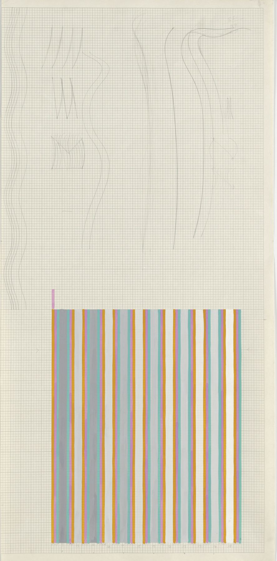 Bridget Riley, Untitled (Related to 'Sound'), 1972