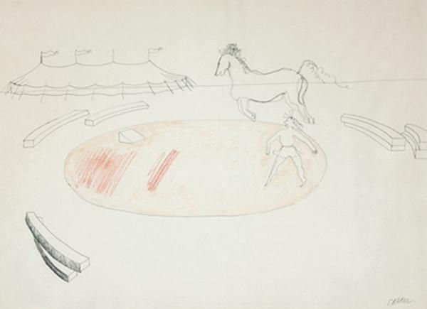 Alexander Calder Untitled (Circus, Horses and Trainer)