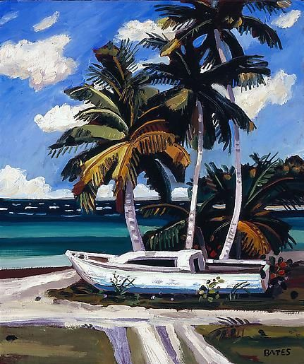 David Bates Sail Boat - Sandy Point, 2008