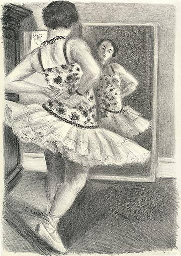 Danseuse reflétée dans la glace, 1927,