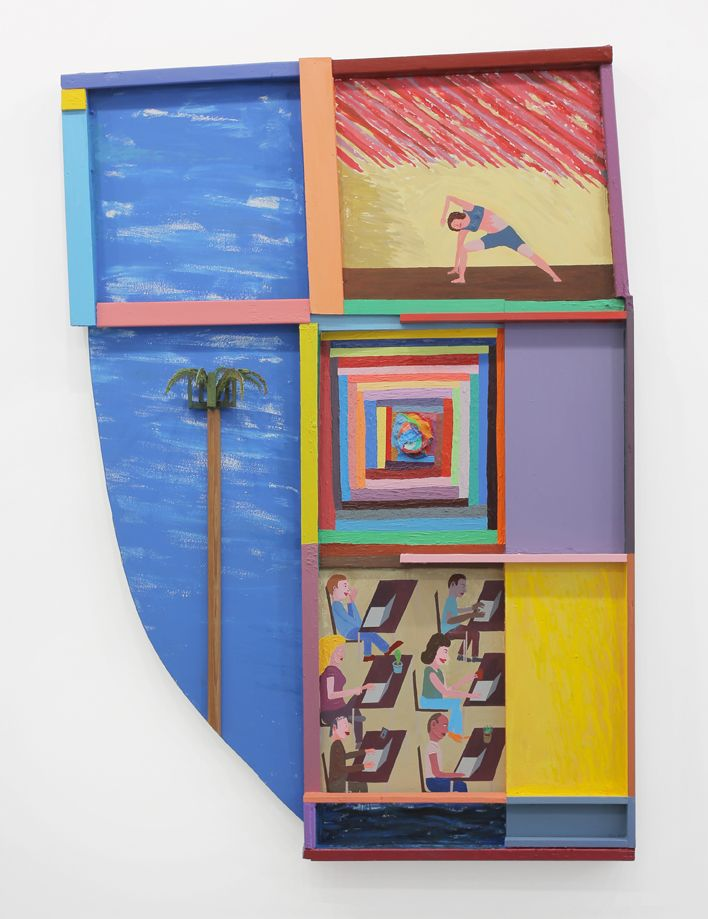 Chris Johanson, Los Angeles Painting Number 1 of 2015, 2015