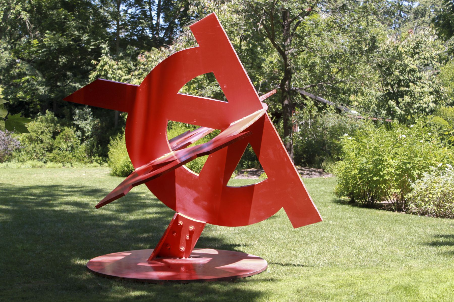 Mark di Suvero, Viva!, 1985