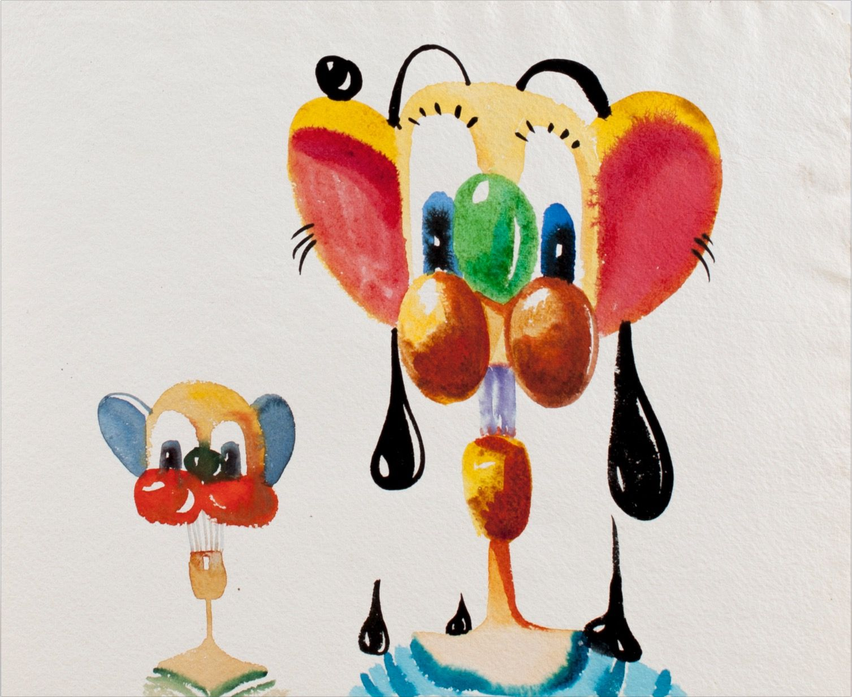 George Condo, Untitled, 1996