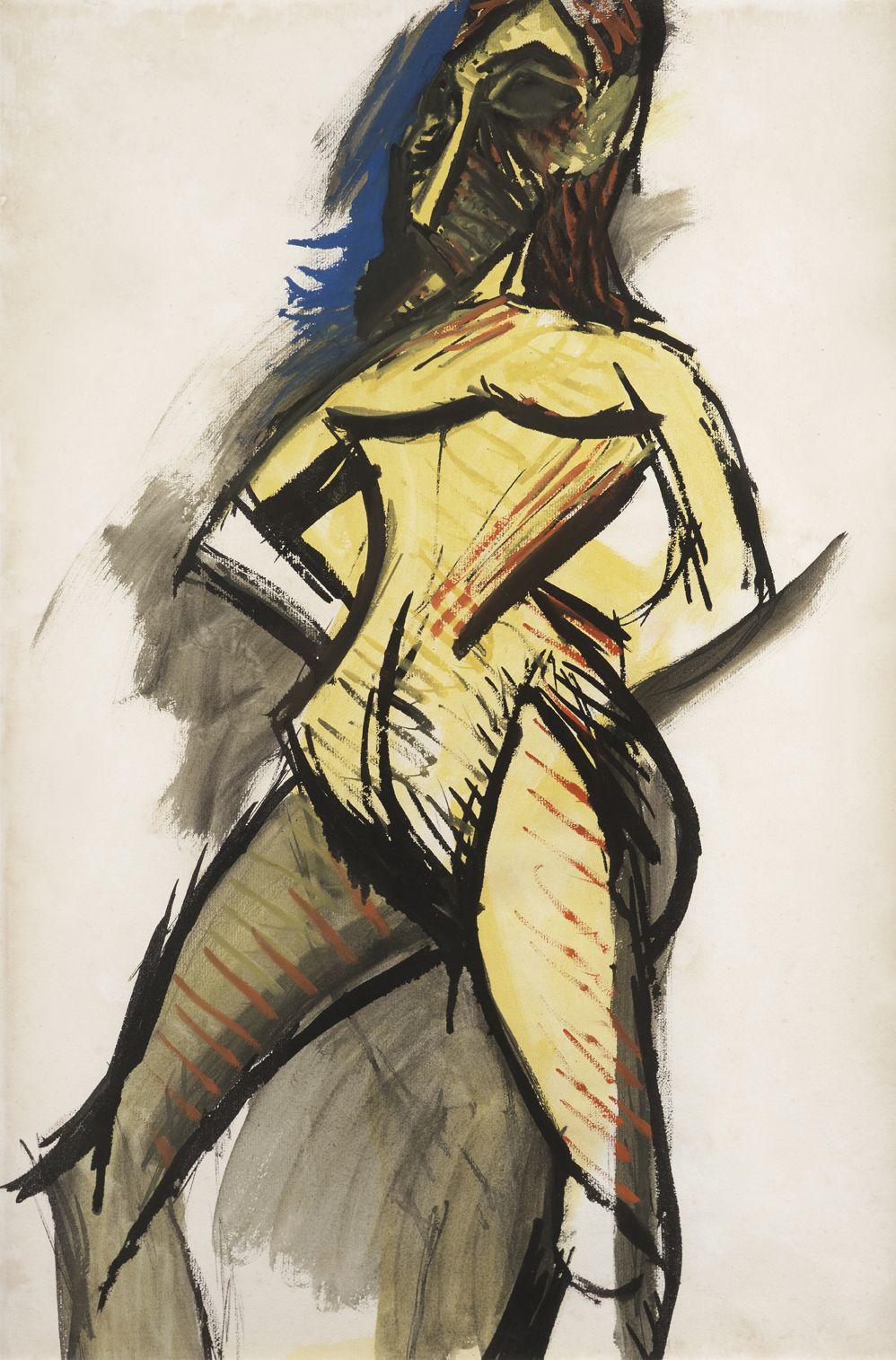 Pablo Picasso, Le Nu Jaune, 1907