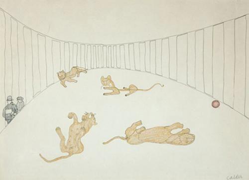 Alexander Calder Lion Cage