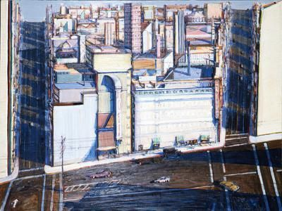 Wayne Thiebaud Urban Square