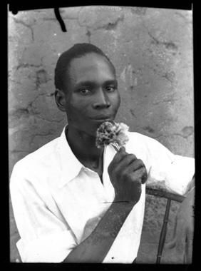Self-portrait 1949 silver gelatin print