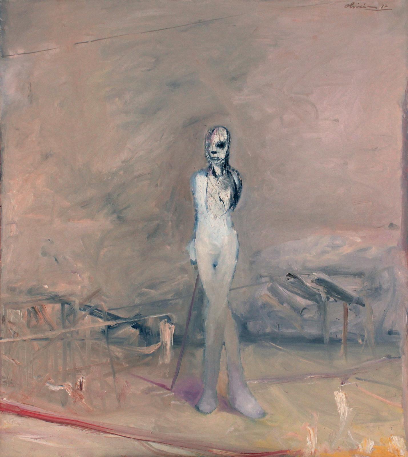 Nathan Oliveira Ryan Figure #9,1982