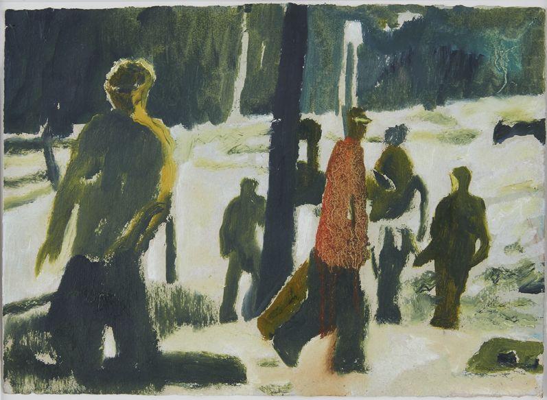 Peter Doig, Orange Sunshine, 1997