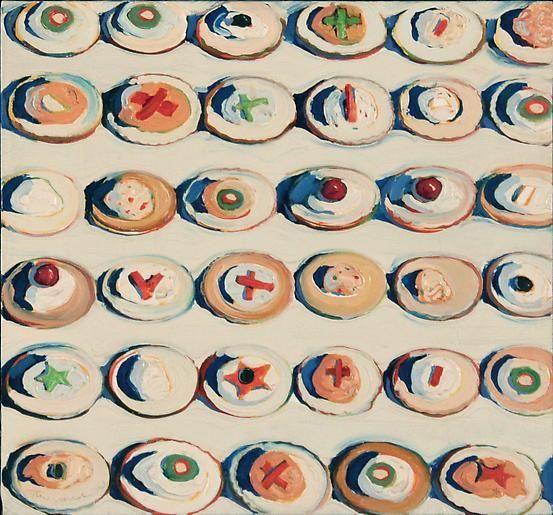 Wayne Thiebaud Cracker Rows, 1963