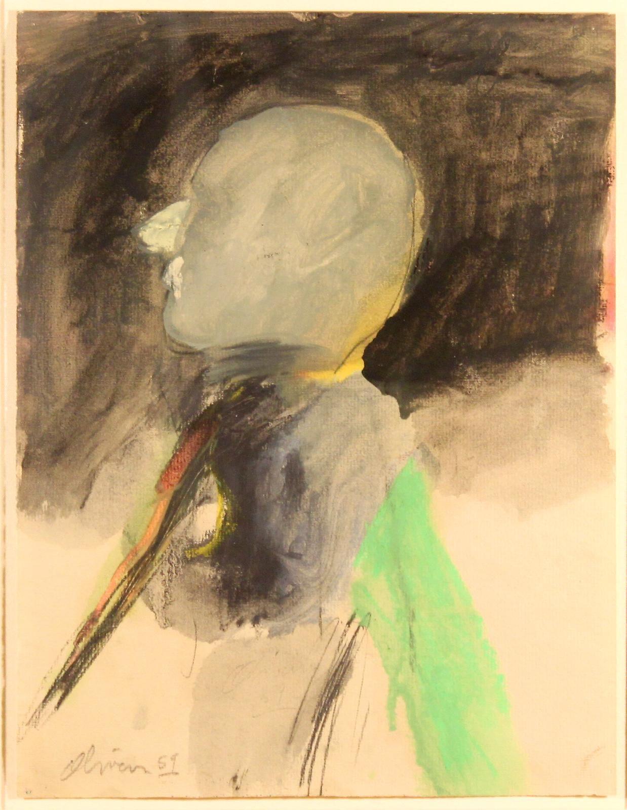 Nathan Oliveira Head, 1959