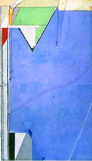 Richard Diebenkorn High Green, Version II