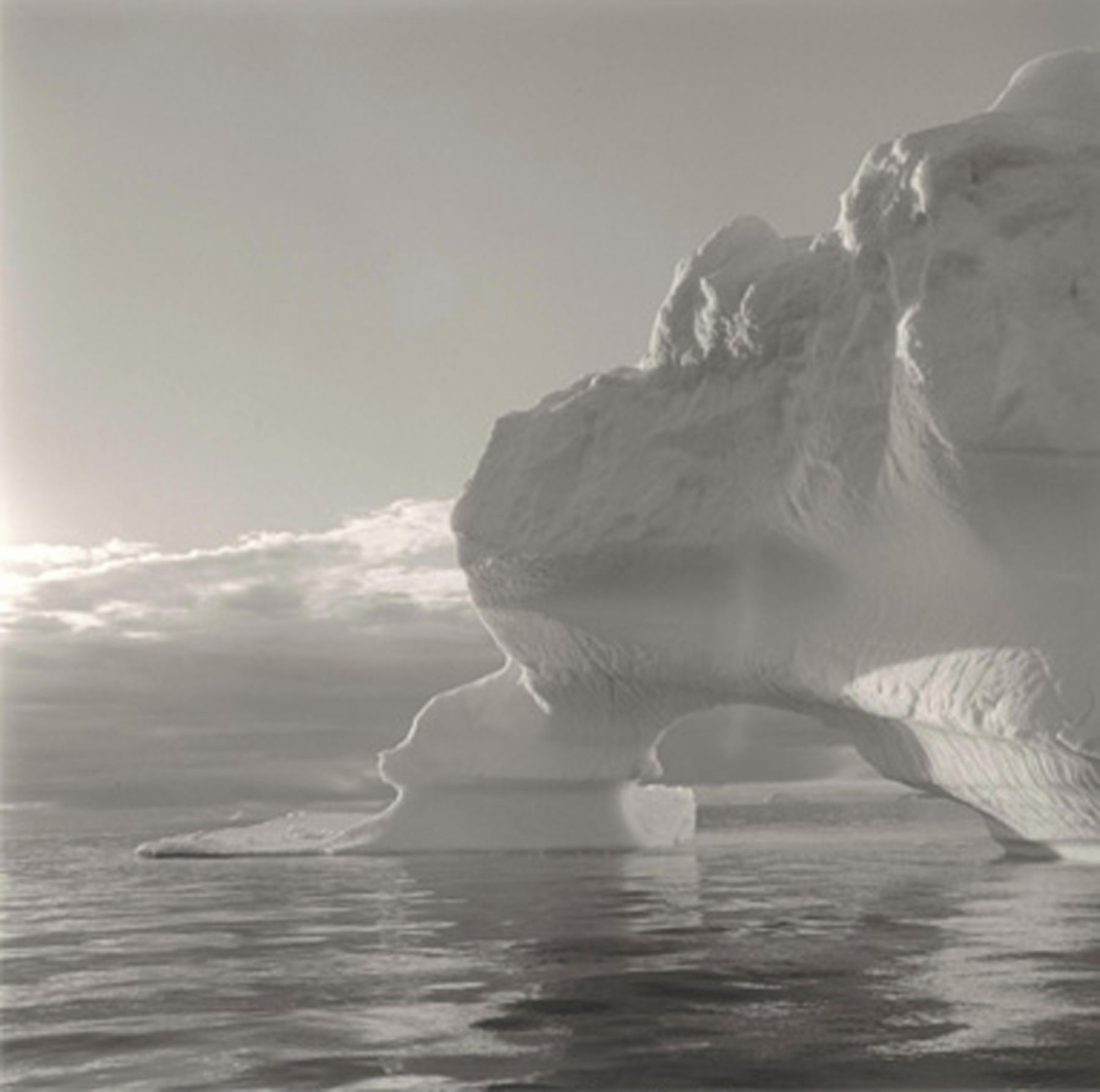 Lynn DavisIceberg 24, Disko Bay, Greenland, 2000Gelatin silver enlargement print40 x 40 inchesEdition of 10